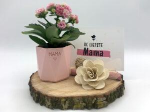 moederdag pakket roze